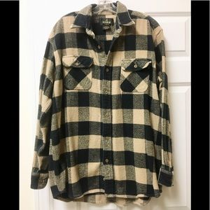 Super thick and warm Redhead flannel shirt
